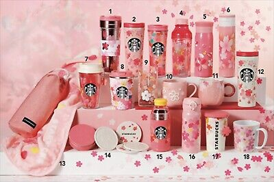 Starbucks SAKURA Series 2019 New Tumbler Mug card Pouch glass 2st Yo-u 陽 18 type
