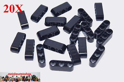1 x 11 Loch Lego Technik 3x Liftarm Steine in Schwarz