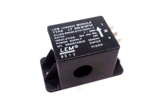 Used Lem Lt-200-s/sp33 Current Transducer Lt200ssp33