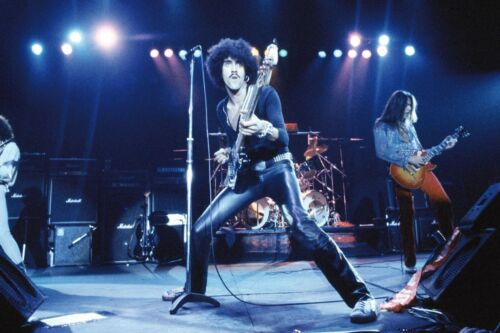 "THIN LIZZY -Phil Lynott rare 8x10"" photo!!"