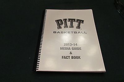 2013 14 Pitt Panther Media Guide And Fact Book Acc