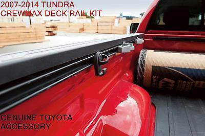 2007-2014 OEM TOYOTA TUNDRA  CREWMAX DECK RAIL BED RAIL KIT  / PT278-34071