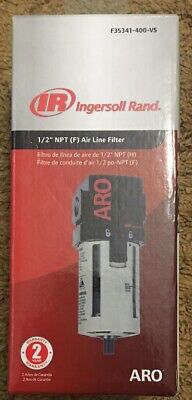 Aro F35341-400-vs Air Line Filter 12 Npt - 150 Psi Max Inlet