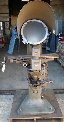 Jones Lamson 20x Optical Comparator And Measuring Machine Pc-14