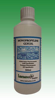 Propylene Glycol (MPG/PG) USP/EP GRADE  - 500ml