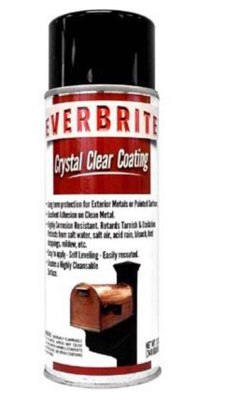 Everbrite 12 Oz. Aerosol Clear, Exterior Protective Coating for Metal