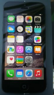iPhone 5 Black 16 GB - Unlocked Mirrabooka Stirling Area Preview