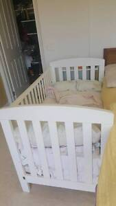 Baby Cot & Mattress & Chest of drawers Bundoora Banyule Area Preview