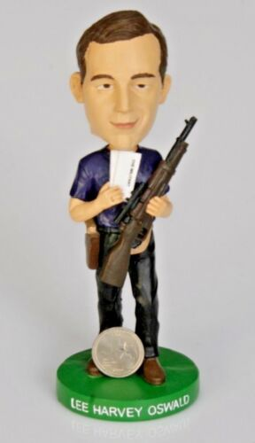 @@RARE LEE HARVEY OSWALD BOBBLEHEAD MARKING THE 50TH ANNIVERSARY OF TRAGIC DAY@@