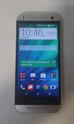 HTC One Remix 16GB(HTC6515L)- Silver - Verizon - GSM Unlocked - Fully Functional