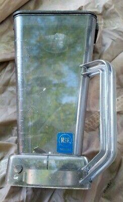 Vitamix Vita-mix Stm-124 C Blender Jar 48 Oz Commercial Nsf Pitcher With Lid