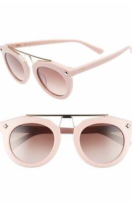 New MCM 49 MM sunglasses in mauve color