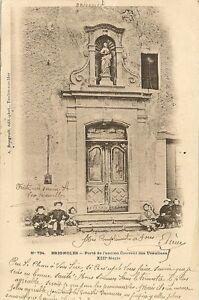 Carte postale brignoles porte de l 39 ancien couvent des for Porte carte postale sur pied