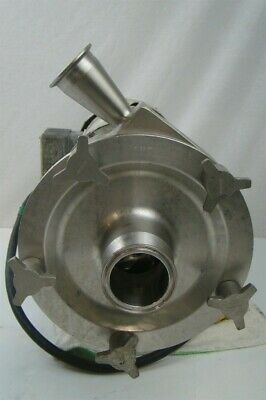 Fristam Centrifugal Pump Sanitary Stainless Tri-clamp Connections Cwdm3611t