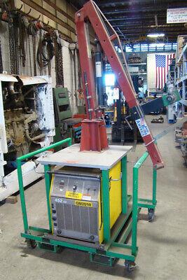 Esab 452cv Water Cooled Welder With Feeder Boom Cart Coolmate Cooler 230460 3