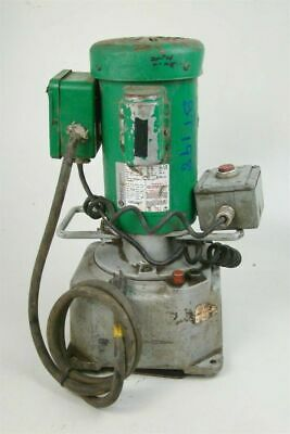 Greenlee Hydraulic Power Pump 115 Vac 60hz 960saps