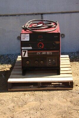 Lincoln Electric Idealarc Cv305 3ph Mig Welder Power Source Cv-305