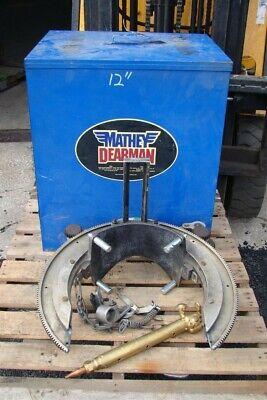 Mathey Dearman Pipe Beveling Machine Manual Saddle W Torch 6-12 2sa