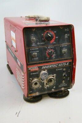 Lincoln Cc Tigstick Welder 270 Amp 1 Or 3ph Tweco Invertec V275-s