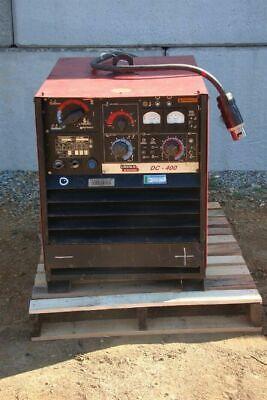 Lincoln Electric Dc-400 Multiprocess Welder Cccv 230460v 3ph