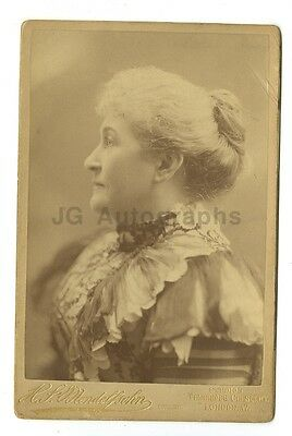 19th Century Fashion - 1800s Cabinet Card Photograph - H.P. Mendelsohn of London
