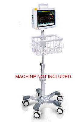 Rolling Roll Stand For Infinium Omni Ii Patient Monitor Big Wheel