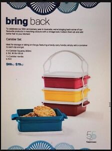 Tupperware stackable lunch boxes Toodyay Toodyay Area Preview
