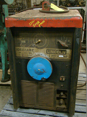 Idealarc Acdc Arc Welder 230460v 0693 Ac-307942 Tm-300300