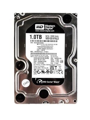 Western Digital 1TB HDD Caviar Black WD1001FALS (655-1567E)