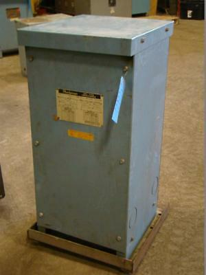 Powerformer Transformer 37kva 240x460120240v 1ph 221-3205