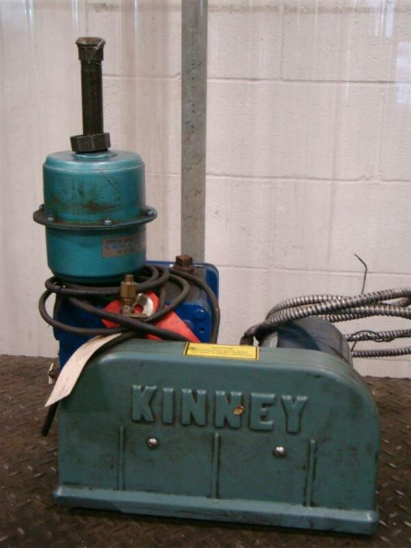 Tuthill Vacuum Systems Kinney High Vacuum Pump 14478 0702 KC 5/8