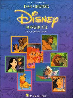 Das große Disney Songbuch in deutscher Sprache Noten Klavier Gitarre Gesang