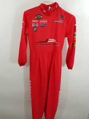Dale Earnhardt Halloween Costume (Dale Earnhardt Jr Boys 7-8 Jumpsuit Youth Childrens Halloween Nascar Costume)