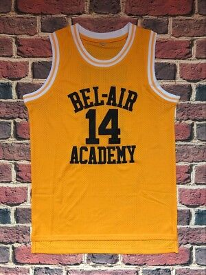 The Fresh Prince Of Bel Air Academy Jersey  14 Will Smith  Yellow Mens