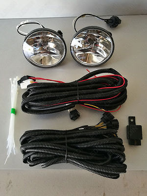 For 07-13 Chevrolet Tahoe Avalanche Suburban Clear Fog Light with Switch Bulbs