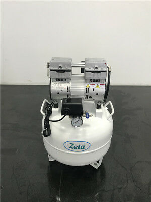 Zata 201 Oilless Silent 780w Dental Air Compressor One Drive Two 150lmin
