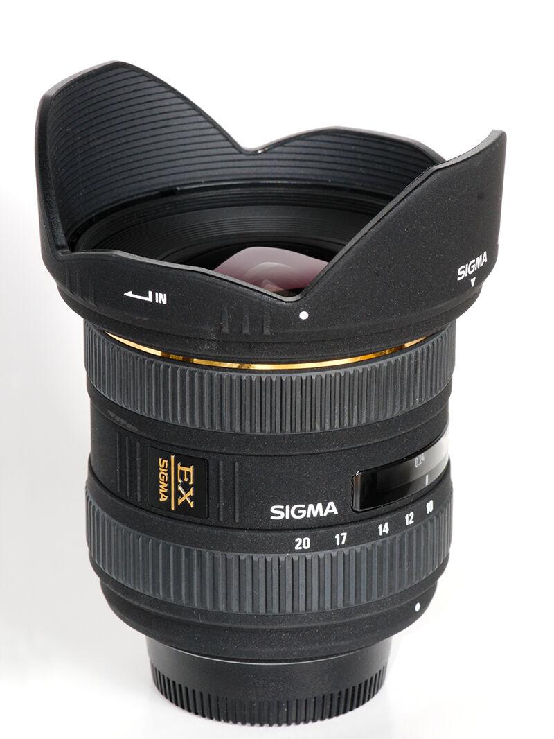 Wide-angle zoom: Sigma 10-20mm f/4-5.6