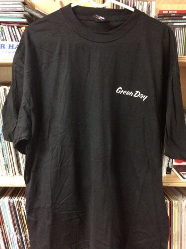 Green Day Nimrod Era Embroidered Logo Shirt NOS XL NOFX Alkaline Trio MxPx Punk