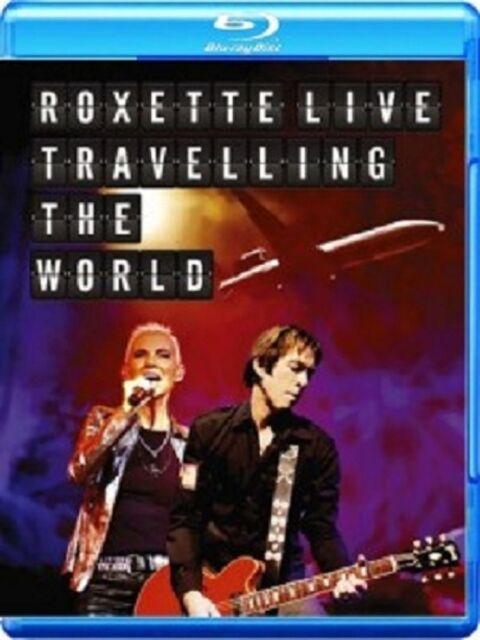 ROXETTE - LIVE-TRAVELLING THE WORLD - BLU-RAY + CD - NEU!!