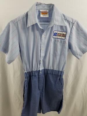 Kids Mailman Costume (Get Real Gear Childrens Boys Girls 8-10 Postal Service Costume Dress Up Mail)