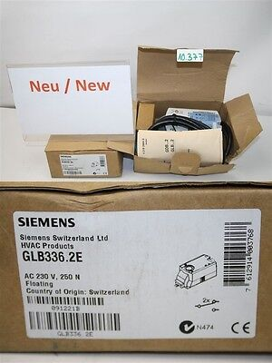 Siemens Glb336.2e Ac 230 V 250 N Air Dampers Rotary Actuator Hvac Products