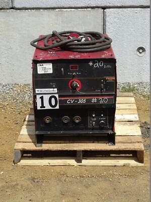 Lincoln Electric Idealarc Cv305 3ph Mig Welder Power Source Cv-305