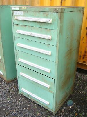 Stanley Vidmar Stationary Full Height Modular Drawer Cabinet 6-drawer