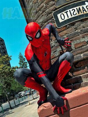 Spider-Man: Weit weg von zu Hause Cosplay 3D Zentai Kostüm Halloween - Zu Hause Halloween Kostüm