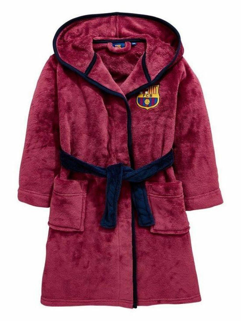 Barcelona Dressing Gown Bathrobe Age 3-12 Years