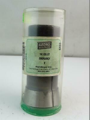 Hardinge Round Collet Emergency E 16c
