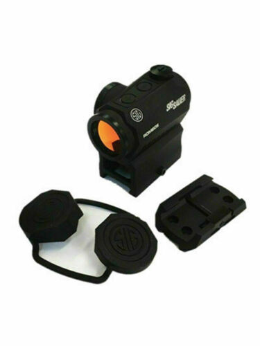 Sig Sauer SOR52001 Romeo5 1x20mm Compact 2 Moa Red Dot Sigh-Black
