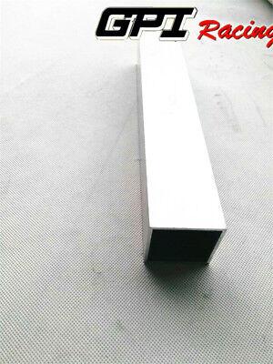 2x2 Aluminum Square Tube Metal Alloy Box Tubing Section T6061 L12
