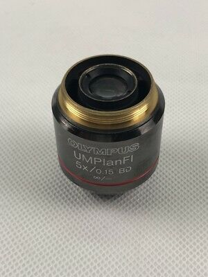 1pc Olympus Umplanfi 5x0.15 Bd Light And Dark Field Objective Tested