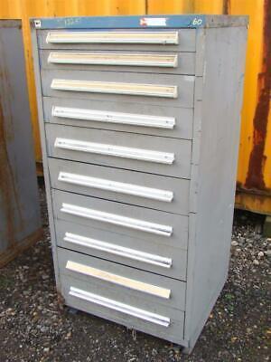 Stanley Vidmar Stationary Full Height Modular Drawer Cabinet 10-drawer